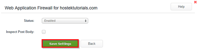 WCP_DomainControlPanel_Security_Web_Application_Firewall_Save_Settings_Button