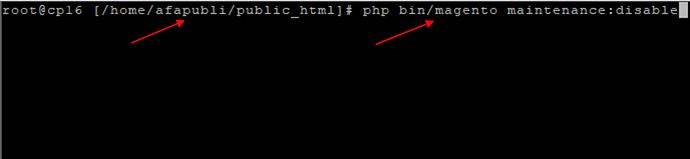 Application_Magento2_Linux_Maintenance_Mode