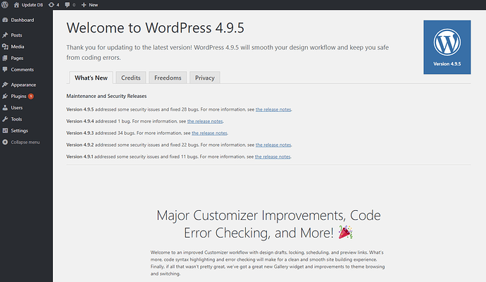 wordpress-updatecomplete