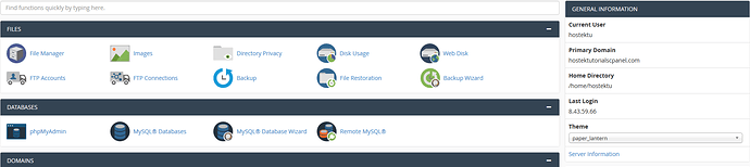 cPanel_Account_Overview