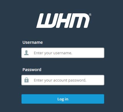 WHM_Login