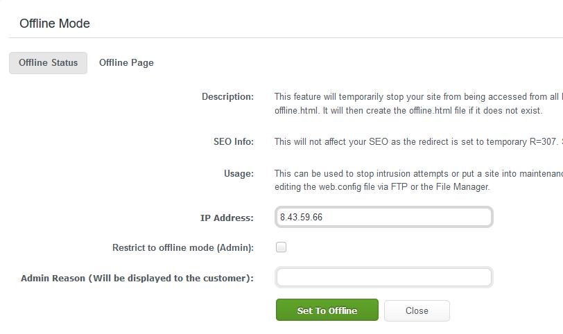 WCP_DomainControlPanel_Security_Set_Offline_Mode_Dialog_box