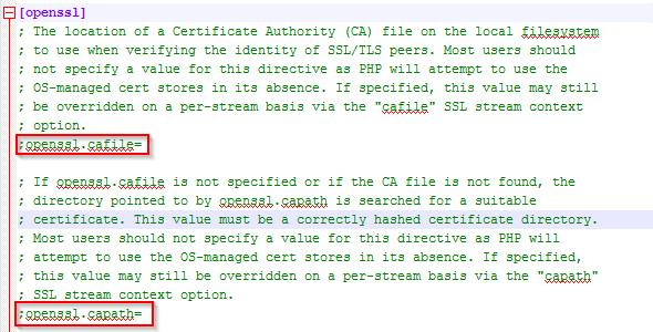 cURL SSL Connection Errors in Windows - PHP - Hostek Community