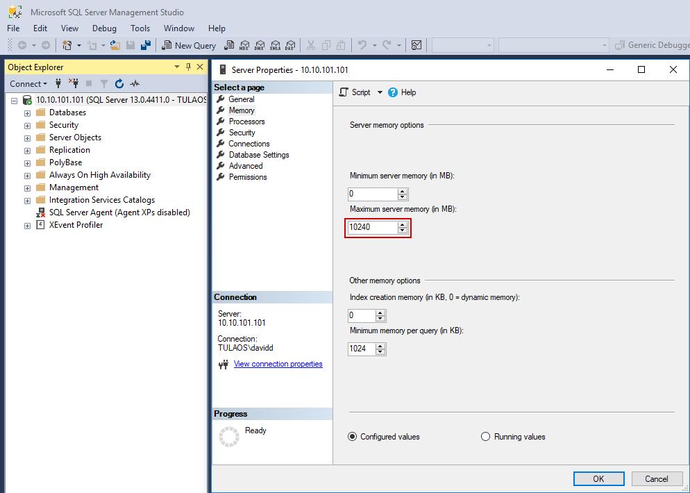 Managing SQL Server Memory Usage - Microsoft SQL - Hostek Community