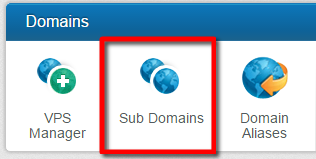 Sub-Domains