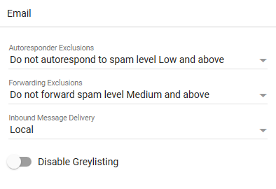 Disable_Greylisting_Email_Section