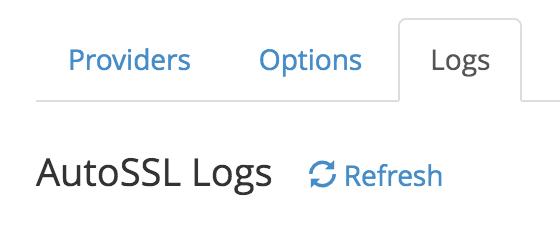 AutoSSL Logs
