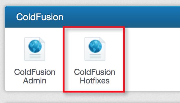 CF Hotfixes